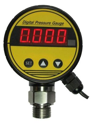 4~20mA output UPS6 high accuracy digital pressure gauge for electricity, water, petroleum supplier