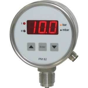 15-10000 Psi Stainless Steel 9V Battery Electronic Digital Absolute Pressure Gauge supplier