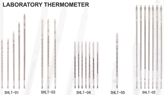 Good Quality Liquid In Glass Mercury Enclosed Scale Laboratory Thermometers For Science Sales