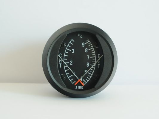 Good Quality Aircraft Combination Exhaust Gas Temperature and Cylinder Head Temperature Gauge CE1-3792C Sales