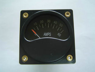 "Good Quality 2 1/4"" square shunt digital Aircraft Gauge ammeter of Voltmeters And Ammeters A2-06 Sales"