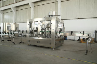 Rinser Filler Capper Monobloc Glass Bottle Filling Machine for Liquid Beverage , Wine , Beer supplier