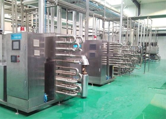 Raw Fresh Milk Processing Machine Turn Key Pasteurized With Plastic Bag supplier