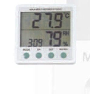 ABS Room LCD Digital Thermometer, Hygrometer With Humidity Memory Function supplier