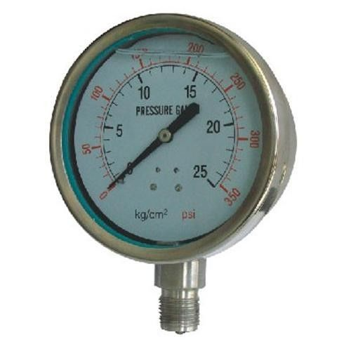 stainless steel Stainless steel pressure gauge for measurement of the pressure of many kinds of corrosive fluid mediums