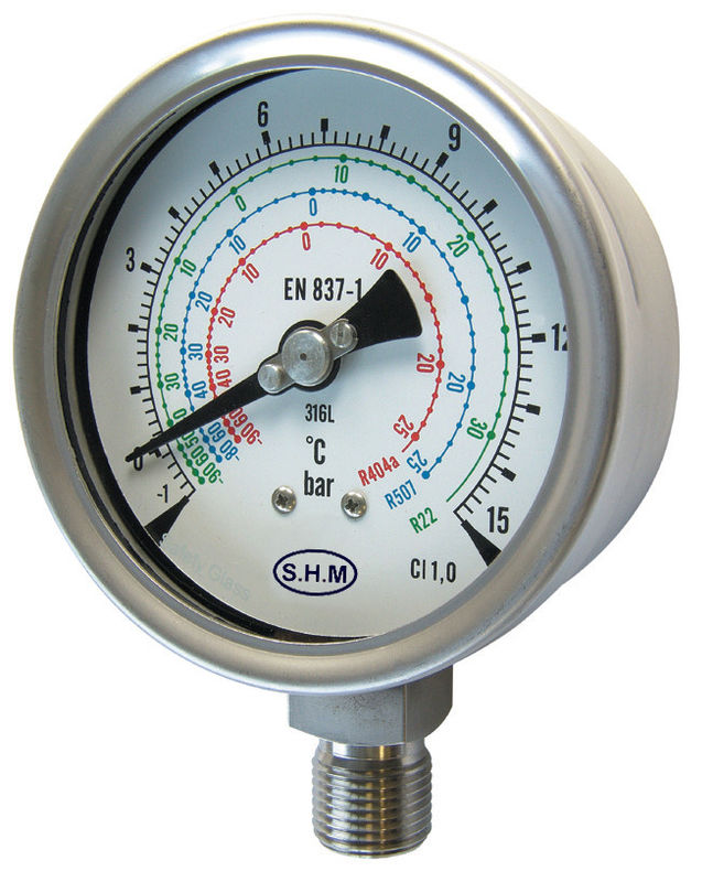 Precision Pressure Gauges : Precision manometer pressure gauge