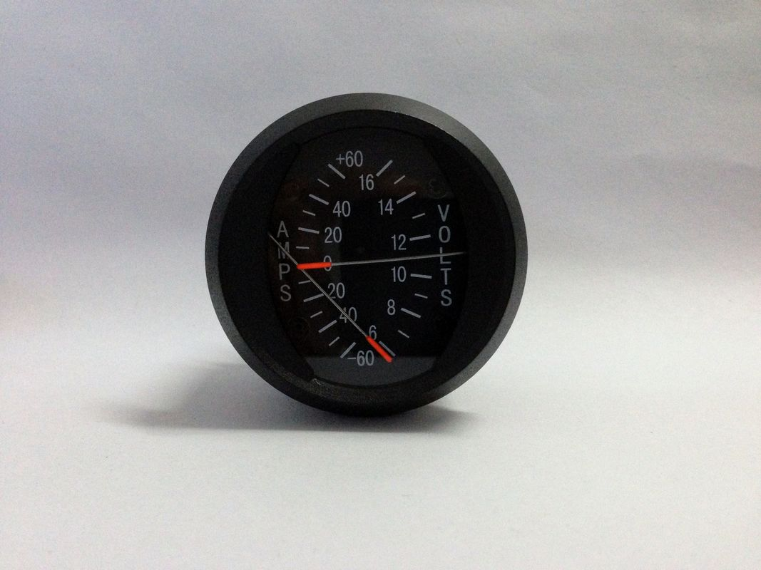 2 inch Combine Aircraft Voltmeters And Ammeters Gauge AV1-6616
